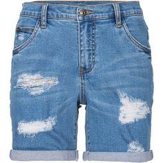 Shorts mit Destroy-Effekten - RAINBOW  ♥ unsere Jeans Picks für Dich