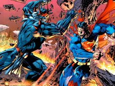 Superman screenshots, images and pictures - Comic Vine Superman Comic, Jim Lee Superman, Superman Games, Superman Man Of Steel, Batman Vs, Spiderman, Comic Book Artists, Comic Books Art, Comic Art