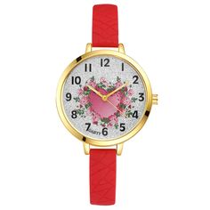 >> Click to Buy << Womens Luxury Quartz Movement Round Plated Case Heart-Shape Pattern Bracelet Shinning Expensive Best Gift for Female Watch #Affiliate