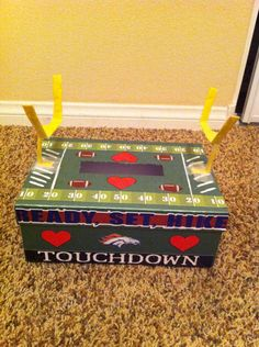 V-day Box - Football (Broncos) Theme