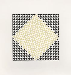 Anni Albers Second Movement V, 1978 etching and aquatint 28 × 28 in. (71.1 × 71.1 cm) 1994.11.52