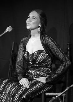 Rocío Márquez, flamenco singer Nice to visit you can visit me at charleytakaya every social where -CT