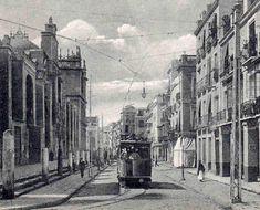 Calle Alemanes en 1910