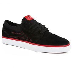 LAKAI X BAKER Griffin black suede red skate shoes 85€ #shoe #shoes #lakai #lakailtd #lakailimitedfootwear #bakerskate #bakerskateboard #griffin #cobranding #chaussure #chaussures #skate #skateboard #skateboarding #streetshop #skateshop @April Gerald Skateshop