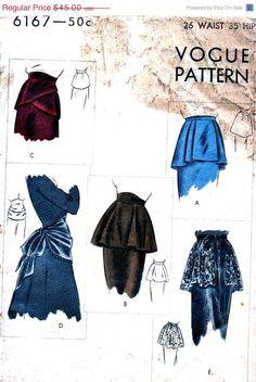 Vintage 40's Fashion Accessories Vogue