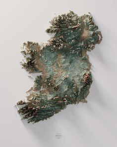 Images Of Ireland, Satellite Maps, Topographic Map, Minerals And Gemstones, Pretty Wallpapers, Cartography, Places Around The World, Hd Photos, Large Prints