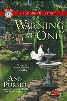 Ann Purser's books She's an English author of mystery/romances.