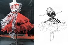 Alice in Wonderland / Tim Burton / Coleen Atwood costume design