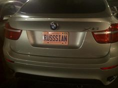 #RussianToronto #Licenseplate