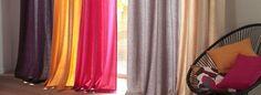 Pour que la décoration de votre intérieur ne ressemble qu'à vous, notre service de confection sur-mesure réalise dans les moindres détails vos rideaux, voilages, accessoires de rideaux, doublures, housses de coussins, linge de lit, linge de table et vos retouches ameublements. Service, Decoration, Curtains, Home Decor, Cushions, Table Linens, Bedding, Arredamento, Decor