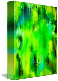 """""""Lemon+Lime""""+by+Wayne+Cantrell,+USA+//+Bold+and+beautiful+abstract+artworks+for+any+wall+by+Wayne+Cantrell.+Lemon+Lime+is+full+beautiful+yellows+and+greens+with+a+breath+of+blue.As+with+many+of+my+artworks+was+created+as+a+lasting+visual+impression.This+abstract+artwork+would+easily+be+a+focal+point+or+add+that+t...+//+Imagekind.com+--+Buy+stunning+fine+art+prints,+framed+prints+and+canvas+prints+directly+from+independent+working+artists+and+photographers."""