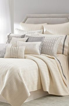 Laundry by Shelli Segal 'Alexa' Duvet Cover available at Nordstrom Bedroom Bed, Dream Bedroom, Master Bedroom, Bedroom Decor, Bedroom Inspo, Home And Deco, Beautiful Bedrooms, Bedding Collections, Luxury Bedding