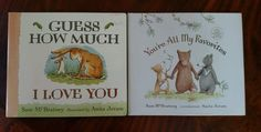 Guess How Much I Love You & You're All My Favorites Sam McBratney Hardback Books