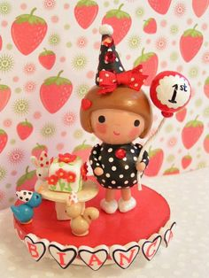 Woodland Birthday Party Cake Topper. $130  http://www.etsy.com/listing/44629669/sample-woodland-birthday-party