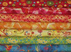 Retro Boho by Studio e'   cotton fabric available at   moandmacsfabricshack.com