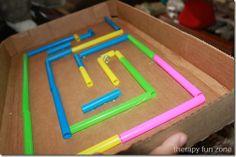 cardboard maze 3