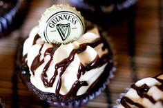 Guinness & Bailey's Irish Cream Cupcakes