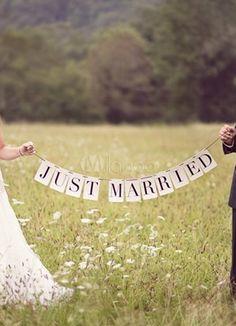 Appena sposata Pattern carta perla nozze romantiche foto Prop - Milanoo.com