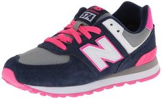New Balance Classics Traditionnels Navy Grey Kids Trainers Size Kids 13 UK