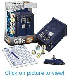 Doctor Who Yahtzee Geek # Geek Toys, Used Video Games, Doctor Who, Puzzles, Board Games, Geek Stuff, Cards, Geek Things, Puzzle