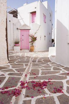 Marpissa village, Paros