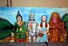 #wizardofoz #mural #amandahart #painting