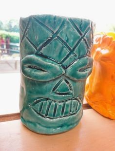 Thomas Elementary Art: 5th Grade Clay Tiki Mugs