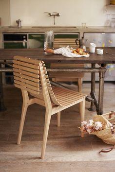 Market chair by Noé Duchaufour-Lawrance