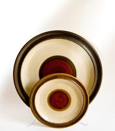 Denby Potter's Wheel Denby Pottery, Pottery Designs, Ceramic Decor, Rust Color, Stoneware, Vintage Items, Ceramics, Retro, Tableware