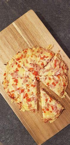 Lavkarbo Pizza Grandiosa Healthy Low Calorie Meals, Low Carb Dinner Recipes, Low Calorie Recipes, Low Carb Meats, Low Carb Pizza, Easy Kid Friendly Dinners, Low Carb Noodles, Baking Recipes, Meat Recipes