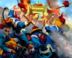 Qing-Chinese troops defeated by the Eight Nations Alliance, Boxers Rebellion, China Troops, Soldiers, Taiping Rebellion, Lead Adventure, Boxer Rebellion, Band Of Brothers, Asian History, Qing Dynasty, Military Art