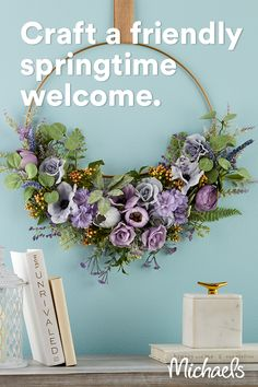 Easter Wreaths, Holiday Wreaths, Holiday Crafts, Home Crafts, Spring Wreaths, Flower Wreaths, Mesh Wreaths, Diy Crafts, Wreath Crafts