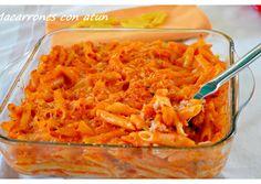 Foto principal de Macarrones con atún. ( Thermomix ) Pasta Thermomix, My Favorite Food, Favorite Recipes, Tapas, Macaroni And Cheese, Ethnic Recipes, Desserts, Tuna, Salads