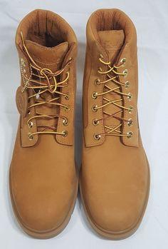 promo code 5bdef ad55b NEW Timberland 19079 Wheat Nubuck Waterproof Mens Boots Sz 11 AntiFatigue