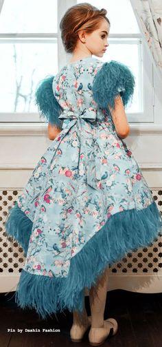 ARISTOCRAT KIDS Birds of Versailles Dress #kids #girl #fashion #kidsfashion #couture