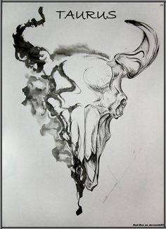 TAURUS... with watercolor?