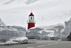 Weird things that really exist :-) Beautiful Lights, I Saw, Lighthouses, Taking Pictures, Alps, Snow White, Mountain, Red, Photography