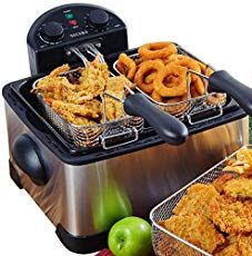 boss air fryer recipe Secura Stainless-Steel Triple Basket Electric Deep Fryer with Timer Free Extra Odor Filter, – Online Cooking Store Nachos, Best Deep Fryer, Chicken Pakora, Cooking Stores, Electric Deep Fryer, Filter, Induction Cookware, Oven Fried Chicken, Fries In The Oven