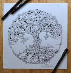 Incredible Pen Drawings by Kerby Rosanes - JOQUZ