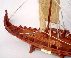 Oseberg viking ship model