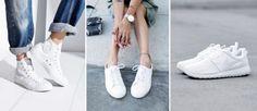 Eure Sneaker sind nicht mehr strahlend weiß, sondern mittlerweile schmutzig beige? Kein Grund zu verzweifeln, denn wir zeigen euch...