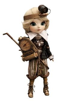 "Pullip Dolls Isul Steampunk Apollo 11"" Fashion Doll Pullip Dolls http://www.amazon.com/dp/B004G09XM6/ref=cm_sw_r_pi_dp_hduItb1QEQ96921T"