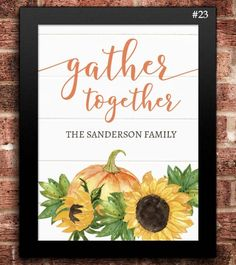 18 Personalized Happy Harvest Collection