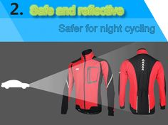 ARSUXEO Sports Cycling Clothes Bike Bicycle Fleece Jersey Long Sleeve Clothing Sale - Banggood.com