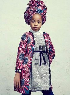 Modern African Dress Style for Kids 2018 That Will Blow Your Mind ~ AfroFashionStyle African Fashion Designers, African Men Fashion, African Fashion Dresses, African Women, Kids Fashion, Fashion Ideas, African Outfits, Fashion Outfits, African Dresses For Kids