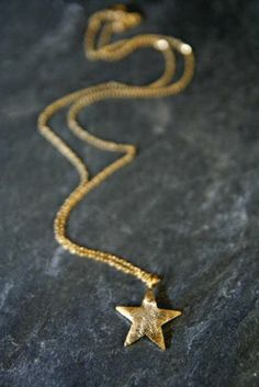 Gold Plated Bright Star Necklace