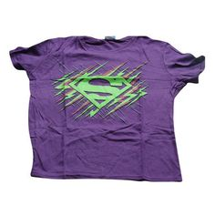 Supergirl Neon T-Shirt Cool Belt Buckles, Superman Man Of Steel, Supergirl, Neon, Sweatshirts, Sweaters, Mens Tops, T Shirt, Clothes