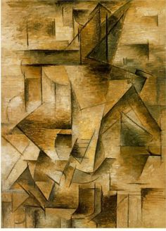 Guitar player, 1910 Pablo Picasso - Style - Analytical Cubism