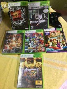 Xbox 360 with Free Console and Games For Sale Philippines - Find 2nd Hand (Used) Xbox 360 with Free Console and Games On OLX