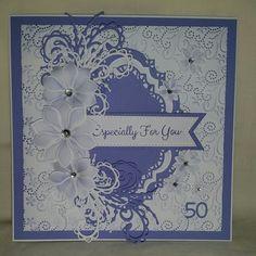 59th birthday card using Sue Wilson Dies